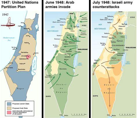 La guerre israëlo arabe de 1948 – Terres d Asie