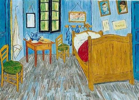 La habitación   Vincent Van Gogh   www.laminaposter.com ...