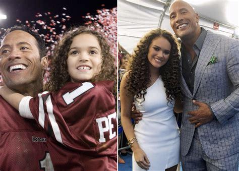 La hija de Dwayne Johnson en el cine ahora tiene 18 años y ...