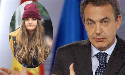 La hija de Rodríguez Zapatero es azafata en la Universidad ...