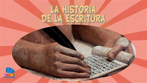 La Historia de la Escritura | Videos Educativos para Niños ...