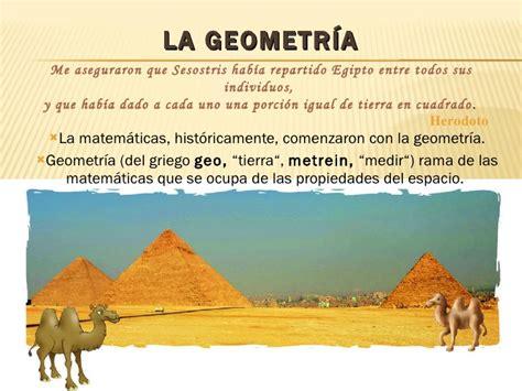 La Historia De La GeoméTríA