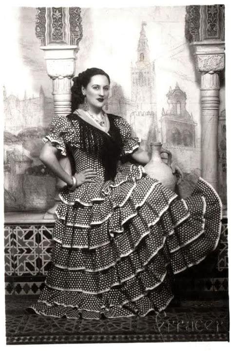 La historia del traje de flamenco | fotos antiguas de ...