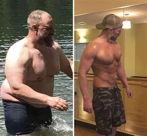La impresionante transformación física que vivió un padre ...