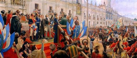 La Independencia chilena Icarito