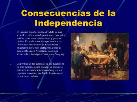 La Independencia de México: CONSECUENCIAS