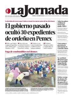 La Jornada: Se hará profunda renovación al programa de ...