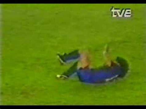 La lesió de Goikoetxea a Maradona  24/09/1983    YouTube