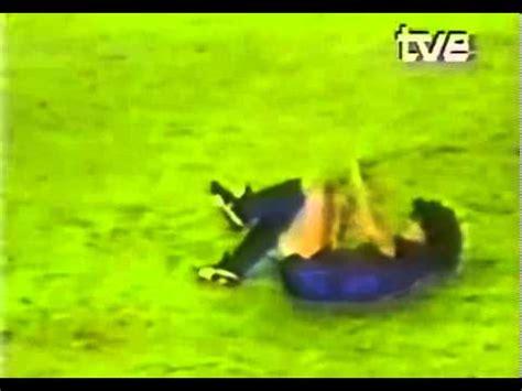 La lesión de Goikoetxea a Maradona el 24 de 09 de 1983 ...