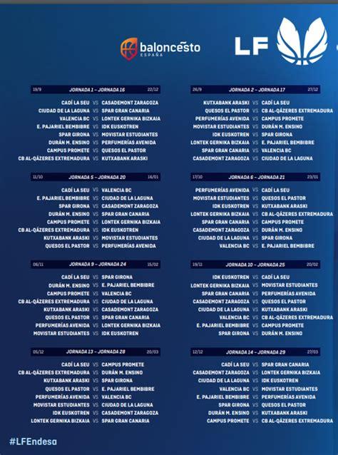 La Liga Femenina Endesa ya tiene calendario   La Neta Neta