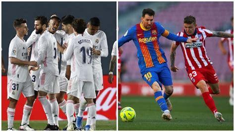La Liga Santander: Clasificación y calendario de los ...