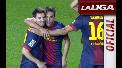 La Liga   Todos los goles del partido FC Barcelona   Celta ...