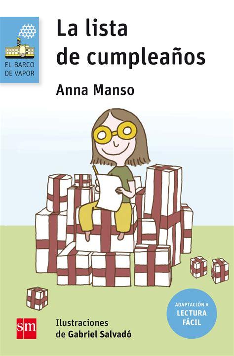 LA LISTA DE CUMPLEAÑOS. MANSO MUNNÉ, ANNA. Libro en papel ...