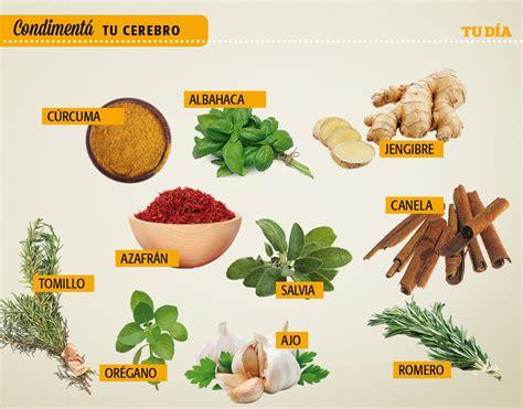 La lista de las 10 especias más saludables para el cerebro ...