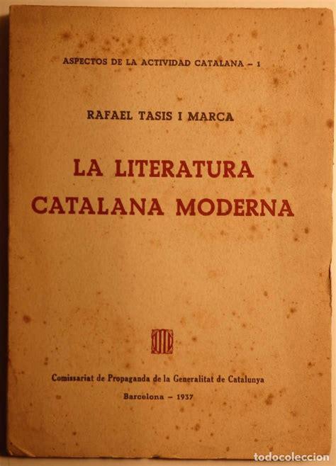 la literatura catalana moderna – aspectos de la   Comprar ...