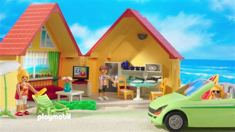 La maison de vacance Playmobil Summer Fun   YouTube