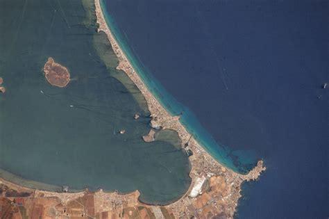 La Manga del Mar Menor desde la ISS – Un geólogo en apuros