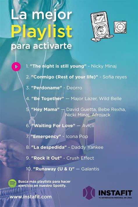 La MEJOR playlist para activarte | Música para hacer ...