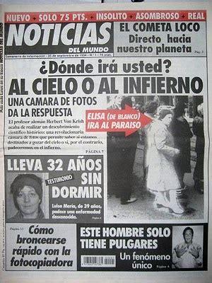 La Mente Insana:  Noticias del mundo :Cuando las noticias ...