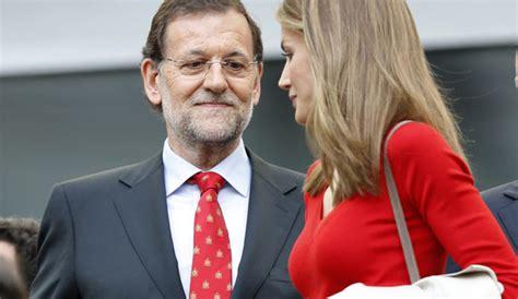 La mirada indiscreta de Mariano Rajoy