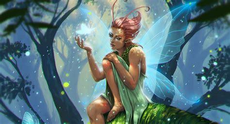 La Mitología Griega: Sílfides