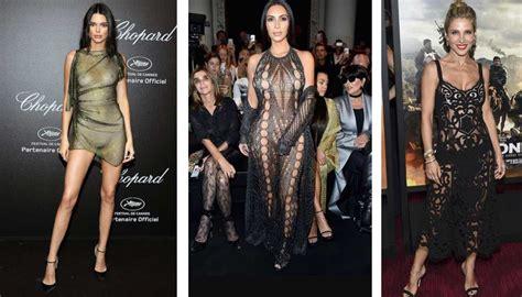 La moda del 'vestido al desnudo' sigue siendo tendencia en ...