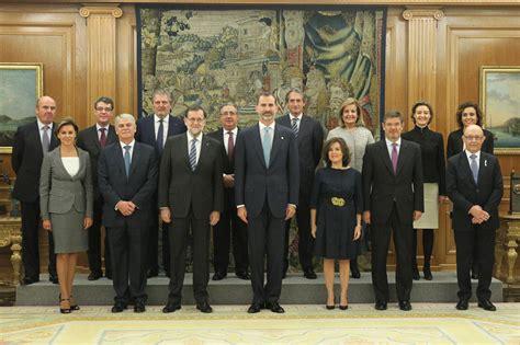 La Moncloa. 04/11/2016. Mariano Rajoy asiste a la jura o ...