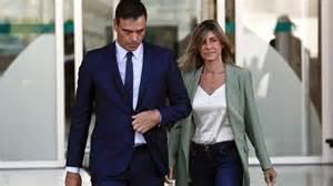 La mujer de Pedro Sánchez, positivo por coronavirus
