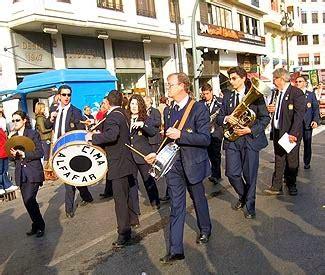La musica fallera « Fiestas en la Comunidad Valenciana