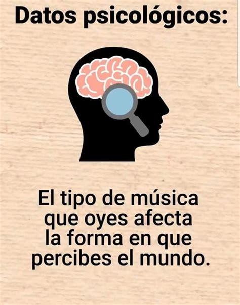 La música | Sabias que datos curiosos, Temas de psicologia ...