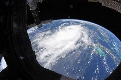 La NASA revela como se ve el huracán Laura desde el ...