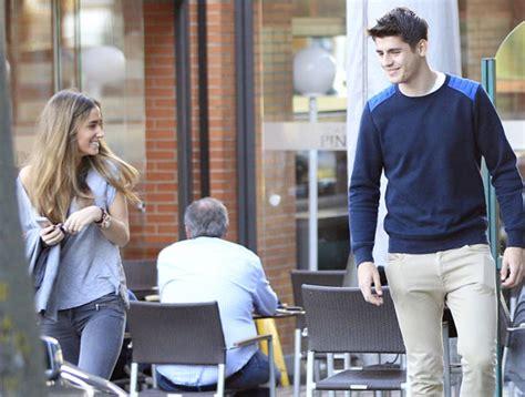 La novia de Álvaro Morata, una de las WAGS más jóvenes y ...