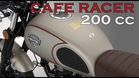 La nueva moto Cafe Racer de Vento   Thriller 200 cc   YouTube