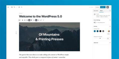 La nueva versión WordPress 5.0 está próxima a su ...