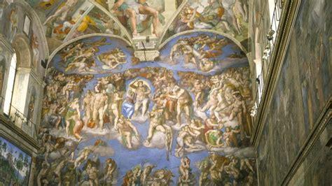 La obra de Miguel Ángel en la Capilla Sixtina enmarca el ...
