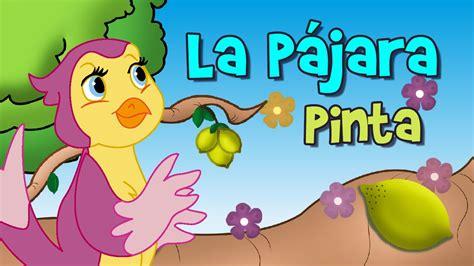 La Pájara Pinta, canción infantil   YouTube