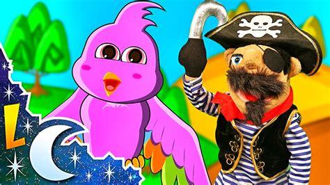 La Pajara Pinta   Canciones Infantiles con El Pirata ...