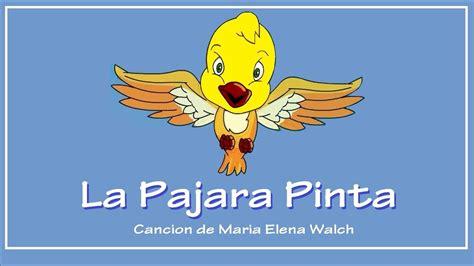 La Pájara Pinta con letra   YouTube