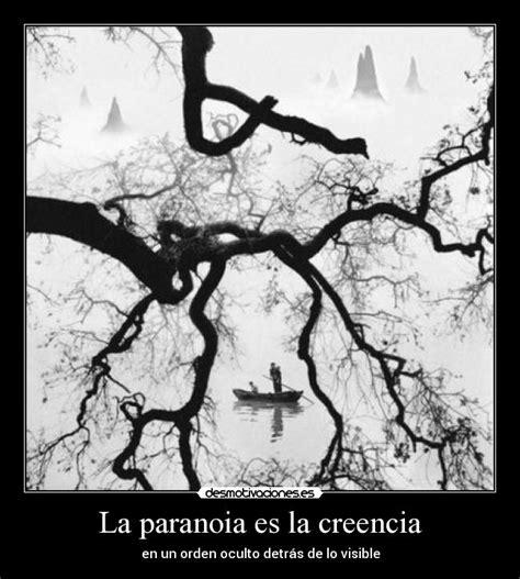 La paranoia   diagnostico y manifestacion     Taringa!