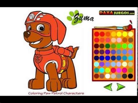 La patrulla canina en español   Juegos para colorear   la ...