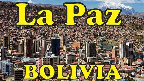 La Paz   Bolivia. Recorriendo las calles de la Paz. Ciudad ...