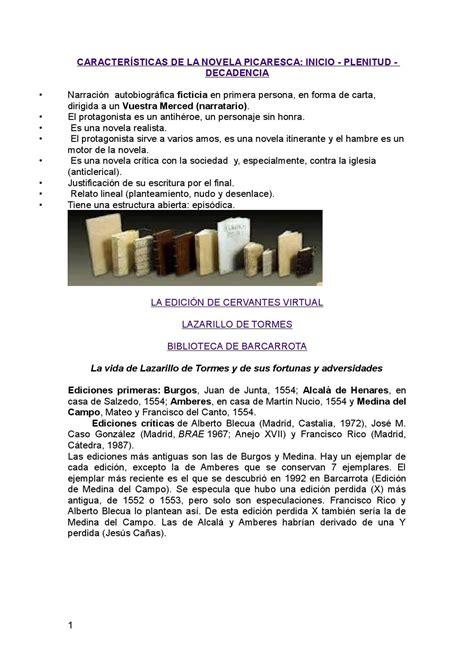 La picaresca y el lazarillo by ana arias   Issuu