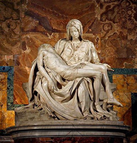 La Piedad del Vaticano, Miguel Ángel Buonarroti ...