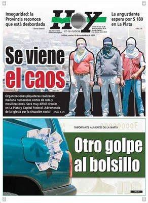 La Plata, Ciudad Generosa: ¿ Lo cobraran de nuevo