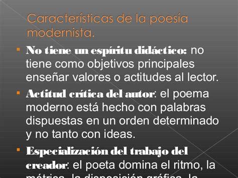 La poesía modernista y Rubén Darío
