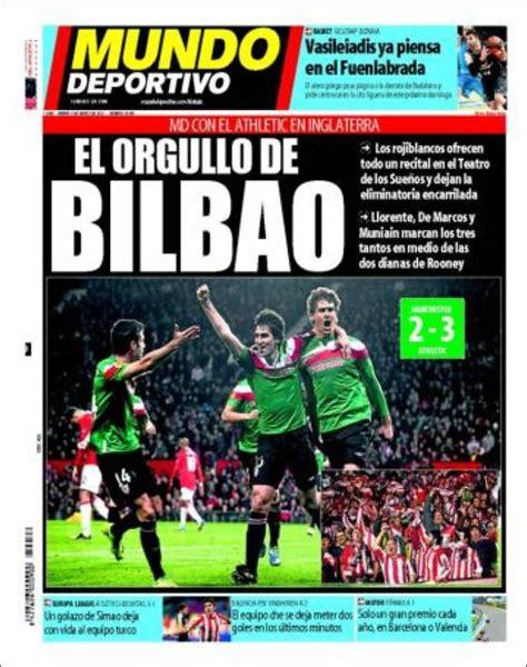 La prensa se rinde al Athletic   Blog de Bori