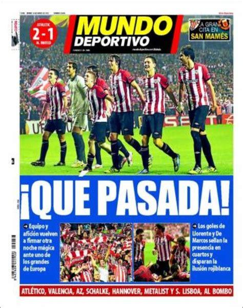 La prensa se vuelve a rendir al Athletic   Blog de Bori