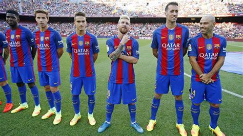 La presentació de la plantilla del FC Barcelona 2016/17 ...