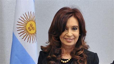 La presidenta argentina, Cristina Fernández de Kirchner ...