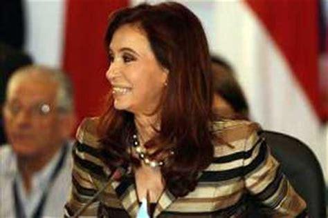 La presidenta de Argentina inicia hoy su primera visita ...